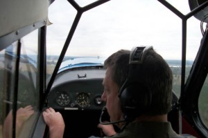 Tail Wheel Training - Steve Spaanbroek